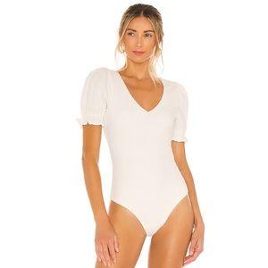 Tularosa White Bodysuit